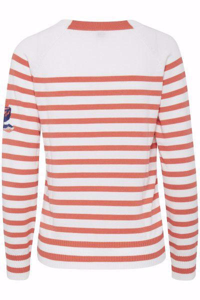 PULZ Sara Striped Pullover
