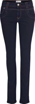 PULZ Tenna straight jeans - Highwaisr