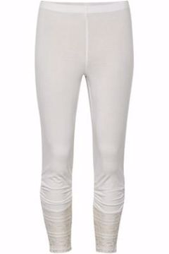cream Agnes leggings