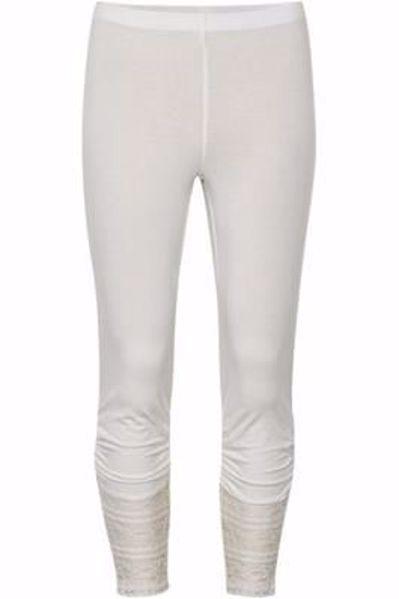 cream Agnes leggings