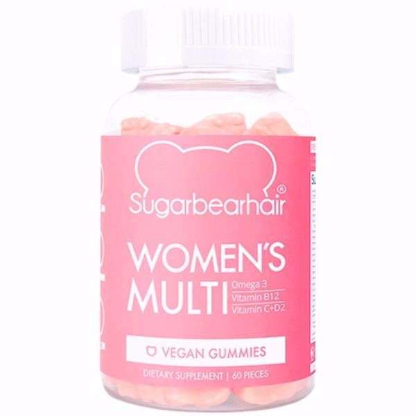 Sugar Bear Women`s Multi Vitamin 60 stk